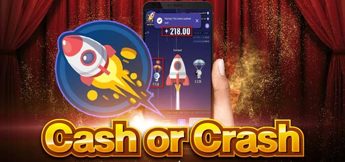 ทดลองเล่นเกม Cash or crash หรือ เกมขึ้นยาน